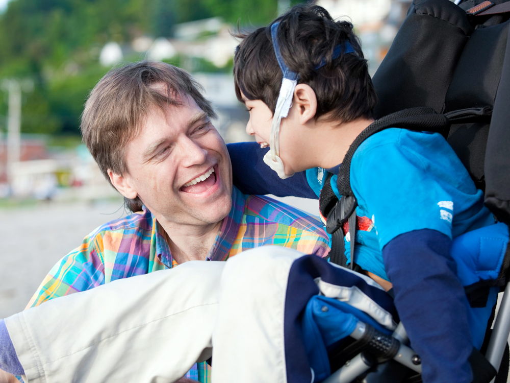 Dad-and-Boy-in-Wheelchair